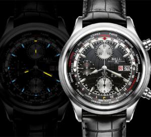 Ball Watch Trainsmaster Worldtime Chronograph