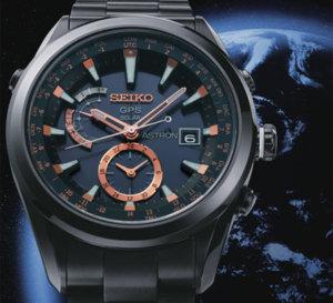 Seiko Astron GPS solaire : l'heure exacte partout dans le monde… sans réglage