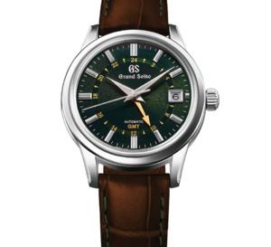 Grand Seiko : très belle GMT en collab' avec Watches of Switzerland