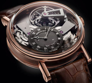Breguet Tradition 7047 tourbillon fusée en or rose