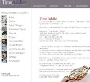 Time Addict - Paris 8ème