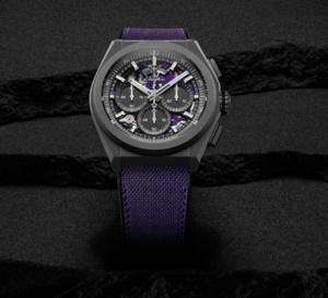 Zenith Defy 21 Ultraviolet : montre UV... ou d'évêque !
