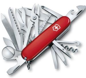 SwissChamp : le couteau suisse à tout faire de Victorinox avec ses 33 fonctions