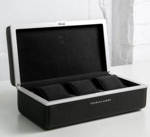 Charles Simon : une valise à montre sur-mesure, design et très haut de gamme en provenance de Montréal
