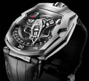 Urwerk UR-210 : avec indication d'efficience du remontage…