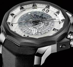 Corum Admiral's Cup Challenger 48 Day & Night : plongeuse et voyageuse