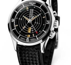 Vulcain Cricket Nautical : la montre de plongée qui sonne sous l'eau…
