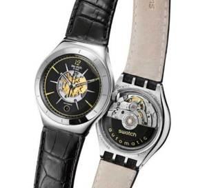 Swatch Irony Big Automatic : retour des Swatch mécaniques automatiques