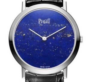 Piaget Altiplano : cadran en lapis, jade, turquoise, opale, etc.