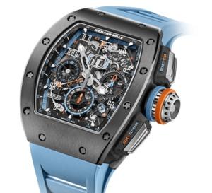 Richard Mille : une nouvelle RM11-05 automatique chrono Flyback GMT en cermet gris
