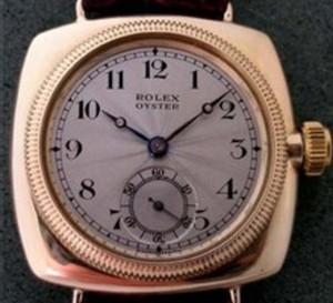 L'Oyster de Rolex : peut-être la plus mythique de toutes...