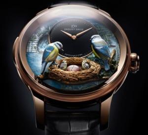 Jaquet Droz : The Bird Repeater, au plus près de la nature...