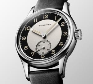 The Longines Heritage Classic Tuxedo : pour folles soirées des Années Folles