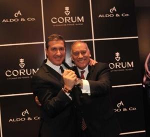 Corum : commercialisée au Pérou chez Aldo & Co