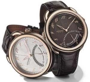 Hermès Arceau Le temps suspendu : deux nouvelles versions en or rose