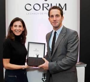Ben Ainslie, ambassadeur Corum élu Marin de l'année 2012