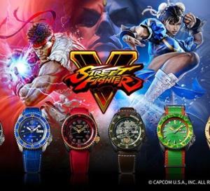 Seiko x Street Fighter : une collection qui a un sacré punch !