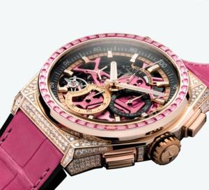 Zenith Defy 21 Pink Edition : contre le cancer du sein !