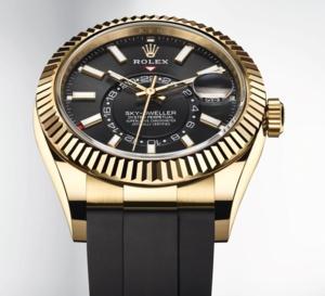 Sky-Dweller : la plus compliquée des Rolex arrive sur bracelet Oysterflex