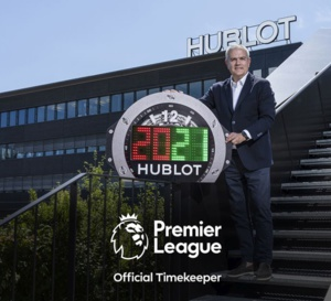 Hublot : chronométreur officiel de la Premier League