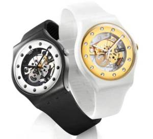 Swatch Silver Glam et Sunray Glam : deux Swatch très glamourous !