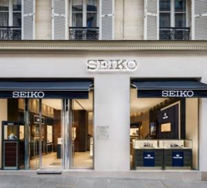 Seiko Paris : sa boutique de la rue Bonaparte entièrement réinterprétée