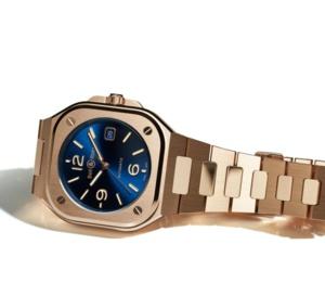 Bell & Ross BR 05 Blue Gold : beau combo !