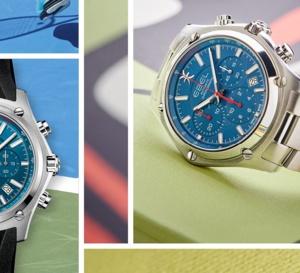 Ebel Chrono Discovery Blue : une montre sport-chic avec cadran bleu de France