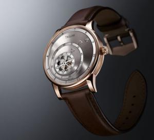 Trilobe Les Matinaux : de l'or rose pour le nouveau calibre X-Centric