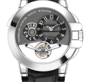 Harry Winston Ocean Tourbillon Big Date : sportive à complications