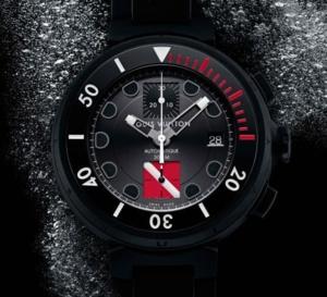 Louis Vuitton Tambour Diving II Chronographe : le premier chronographe de plongée Louis Vuitton