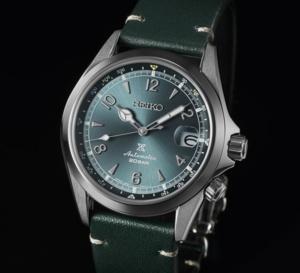 """Seiko Prospect Alpinist """"Mountain Glacier"""" : une montre au sommet pour cette édition limitée """"Europe"""""""