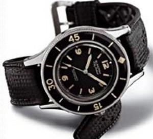 Fifty Fathoms de Blancpain : probablement la première montre de plongée… tout simplement