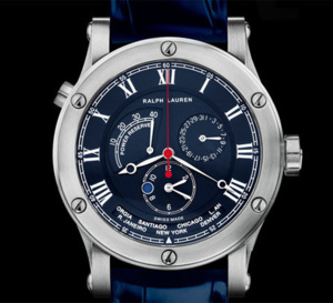 Sporting World Time : l'heure universelle selon Ralph Lauren