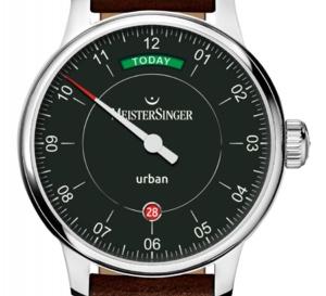 "MeisterSinger Urban Day Date ""Edition Today"" : aujourd'hui n'est pas today ni hoy ni heute..."