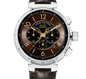 Louis Vuitton Tambour LV277 : nouveau design pour nouveau chronographe auto