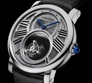 Rotonde Cartier Double Tourbillon Mystérieux : l'une des stars du SIHH 2013