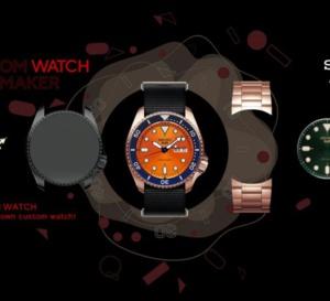 Seiko 5 Sports : créez votre montre et la plus plébiscitée sur les réseaux sociaux sera réalisée !