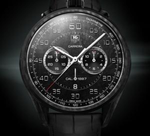 TAG Heuer Carrera CMC concept chronographe : ultra-léger et ultra-résistant