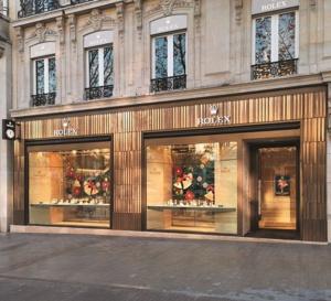 Rolex ouvre sur les Champs-Elysées avec la famille Dubail