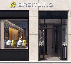 Breitling ouvre à Lyon avec Maier