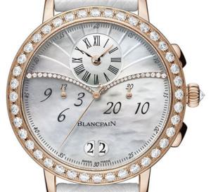 Blancpain Chronographe Grande Date : féminine et technique