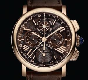 Cartier Rotonde Quantième Perpétuel Chronographe : une montre, deux belles complications…