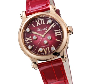 Chopard Happy Sport : rouge passion