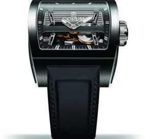 Corum Ti-Bridge Automatic Dual Winder : étonnant remontage automatique en ligne
