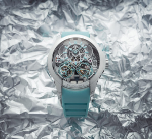 Purnell Escape II Double Spherion Icy Blue : beauté froide