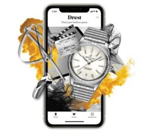 Breitling s'engage dans le monde interactif de la mode et du luxe en devenant partenaire du jeu Drest