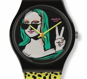 Swatch Lisa Fan : une exclusivité pour la France