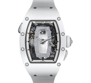 Richard Mille RM 037 Automatique céramique blanche : féminine et horlogère