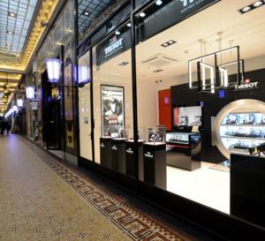 Tissot : ouverture d'une seconde boutique sur les Champs-Élysées à Paris
